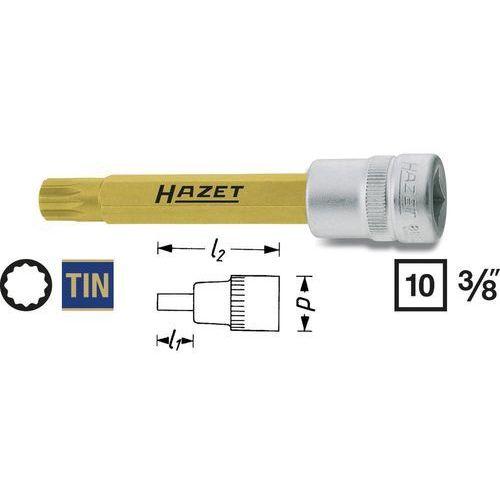"""Gniazdo wkładki do bitów 3/8"""" (10 mm) 8808lg-8 wielowypust (xzn) 8 mm długość produktu 88 mm marki Hazet"""