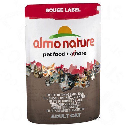ALMO NATURE Rouge Label - Filet z kurczaka z serem 55g- RÓB ZAKUPY I ZBIERAJ PUNKTY PAYBACK - DARMOWA WYSYŁKA OD 99 ZŁ (karma dla kotów)