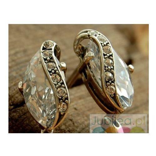 Srebrne kolczyki z kryształkami Swarovski INSBRUCK