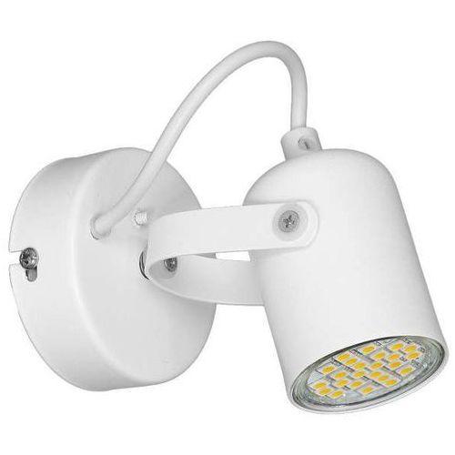 Kinkiet lampa ścienna pico mlp989 regulowana oprawa reflektorek biały marki Milagro