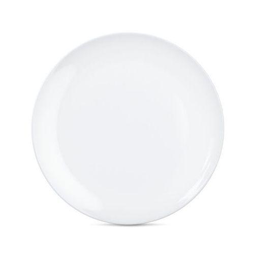 - talerz Ø 28 cm - biały błyszczący - 2 szt marki 58products