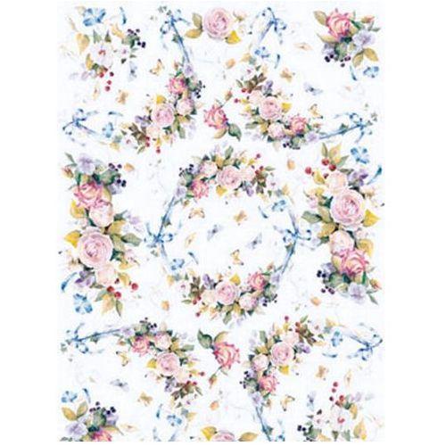 Dystrybucja melior Papier do decoupage b2 easy 185 róże x1