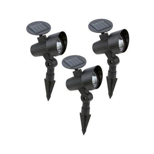 Zestaw 3 reflektorów solarnych wbijanych marki Eglo
