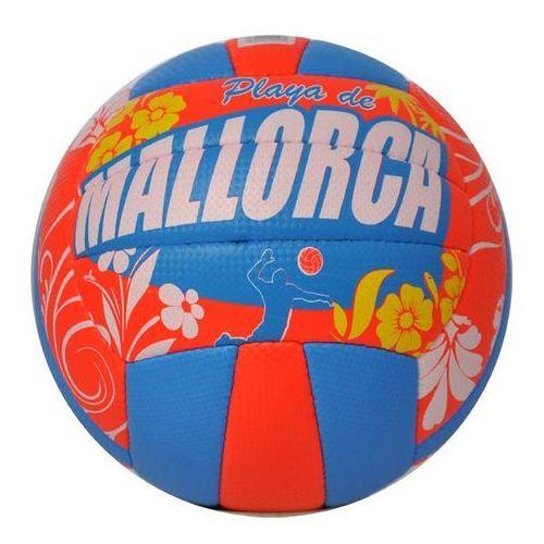 Axer Sport, Mallorca, piłka siatkowa, pomarańczowo-niebieska, rozmiar 5, towar z kategorii: Siatkówka