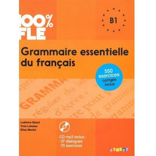 Grammaire essentielle du français B1 Książka + CD audiio, praca zbiorowa
