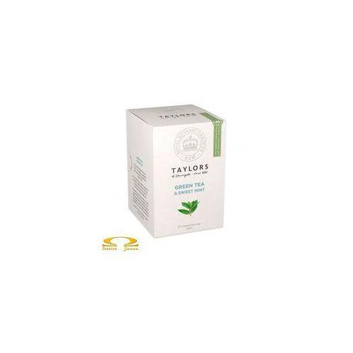 Herbata  zielona ze słodką miętą 20 saszetek od producenta Taylors of harrogate
