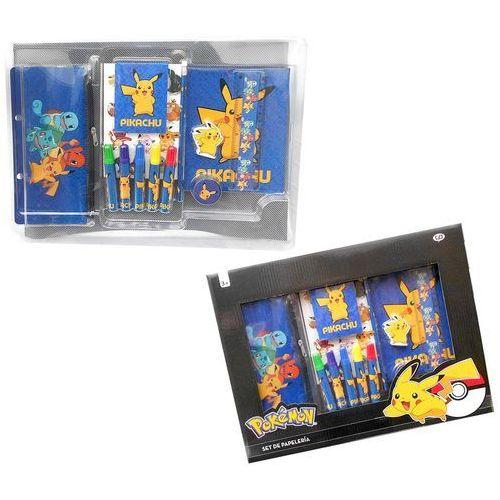 Cyp brands Zestaw przyborów szkolnych – 20 elementów pokemon