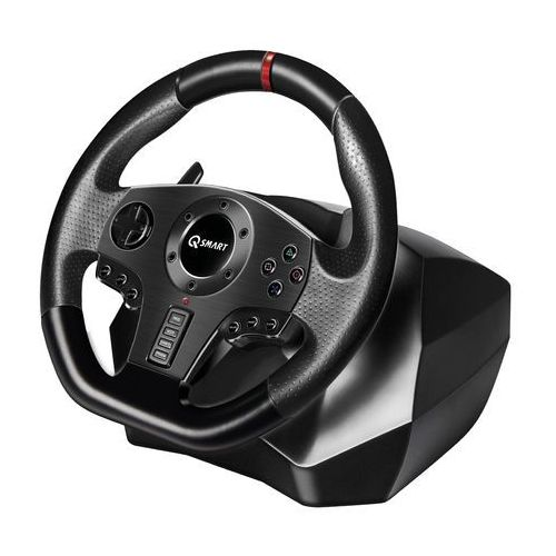 Kierownica rally gt900 (pc/ps3/ps4/xbox 360/xbox one/switch) marki Q-smart