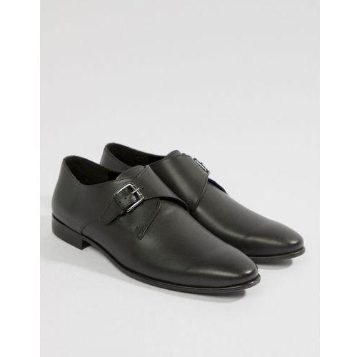 Kg kurt geiger Kg by kurt geiger wide fit single monk shoes in black - black