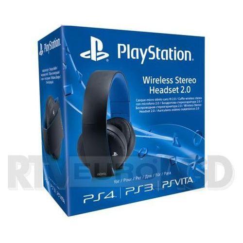 Sony PlayStation Wireless Stereo Headset 2.0 (czarny) - produkt w magazynie - szybka wysyłka!, 281780