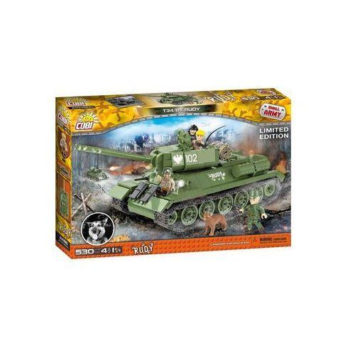 Armia T34/85 Rudy 530 klocków - Cobi Klocki