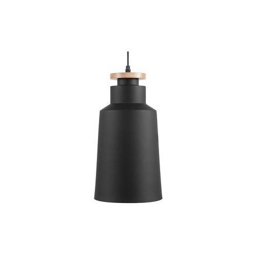 Lampa wisząca czarna neva marki Beliani