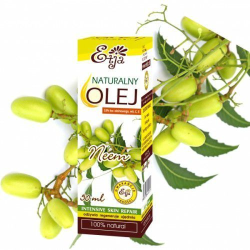 Etja Olej neem z miodoli indyjskiej 50ml 100% naturalny