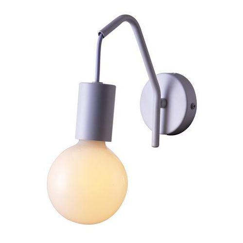 Candellux Kinkiet lampa ścienna basso 21-70982 metalowa oprawa hygge szklana kula ball biała (5906714870982)