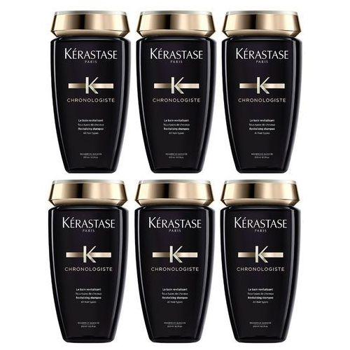 chronologiste revitalisant | zestaw: odżywcza kąpiel rewitalizująca do osłabionych włosów 6x250ml marki Kerastase