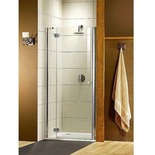 Radaway drzwi wnękowe Torrenta DWJ 90 lewe szkło przejrzyste wys. 185 cm 31900-01-01N