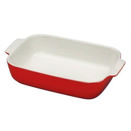 - provence - ceramiczna brytfanna - 36×22,5 cm - czerwona marki Kuchenprofi