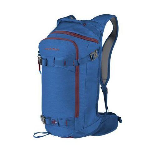 Nowy plecak freeride'owy nirvana flip 25 blue marki Mammut