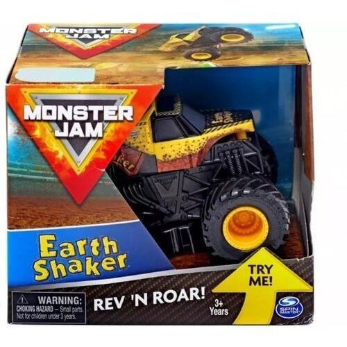 Pojazd monster jam auto warczące opony earth shaker