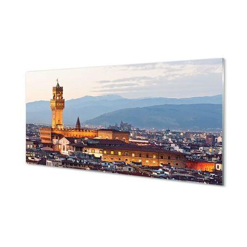 Obrazy akrylowe włochy zamek panorama zachód słońca marki Tulup.pl