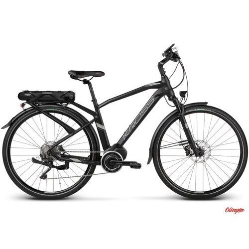 Kross Rower  trans hybrid 5.0 czarny/grafitowy mat 2018