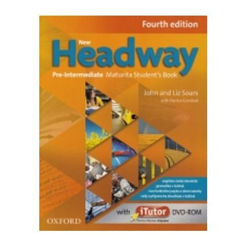 New Headway Fourth Edition Pre - Intermediate Maturita Student´s Book + Itutor Dvd Cz (9780194769754)