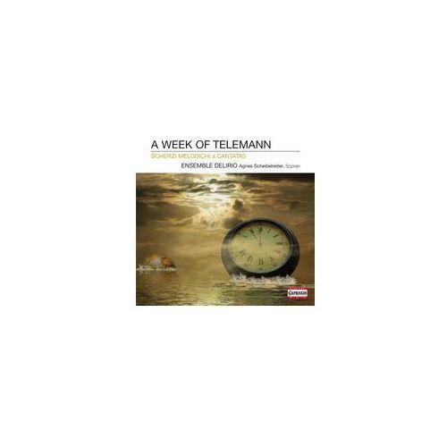 A Week Of Telemann - Scherzi Melodichi & Cantatas, C 5057