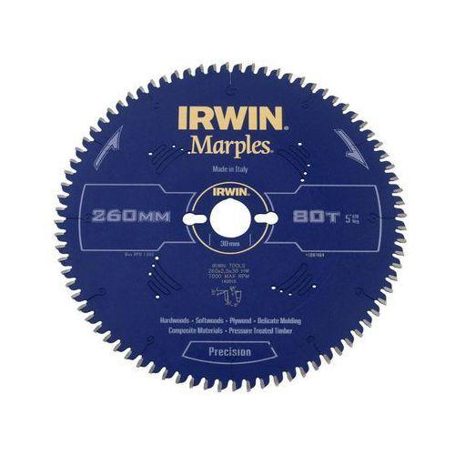 Tarcza do pilarki tarczowej 260 mm/80T M/30 IRWIN MARPLES (5706918974642)
