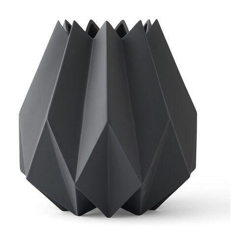 Menu Wazon folded vase tall carbon