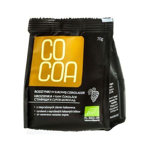 COCOA 70g Rodzynki w surowej czekoladzie Bio