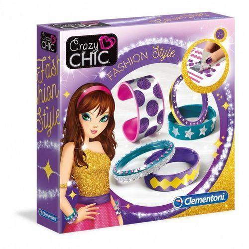 Clementoni Crazy chic lśniące bransolety fashion style - crazy chic bransolety fashion (8005125782512)