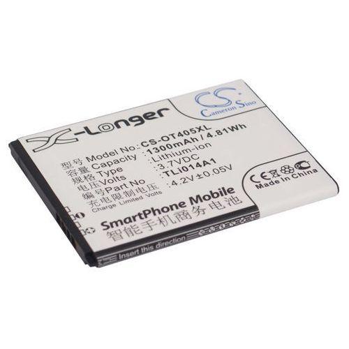 Alcatel One Touch 4005D / TLi014A1 1300mAh 4.81Wh Li-Ion 3.7V (Cameron Sino) - produkt z kategorii- Baterie do telefonów