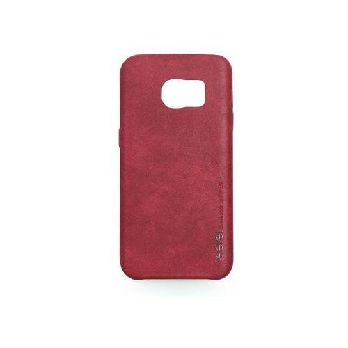 Samsung galaxy s7 - etui na telefon vintage - red wine marki X-level
