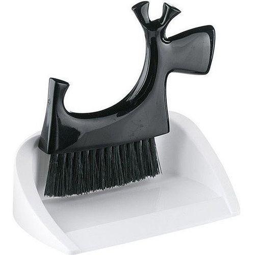 Koziol Zmiotka i szufelka stołowa czarno białe pico bello kz-5051526