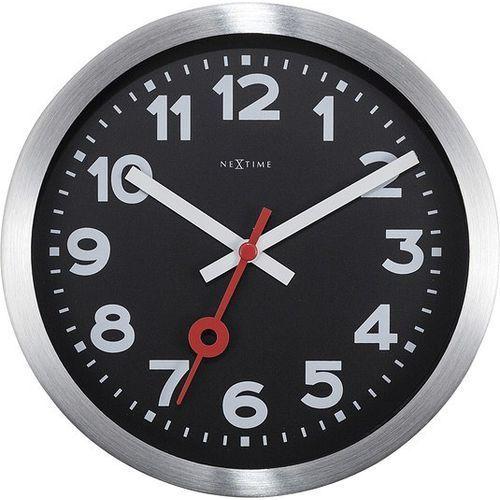 Nextime Zegar ścienny lub stołowy station 19 cm cyfry arabskie