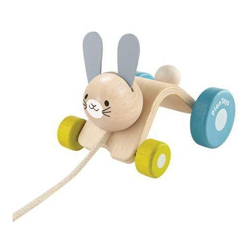 Królik do ciągnięcia - . darmowa dostawa do kiosku ruchu od 24,99zł marki Plan toys