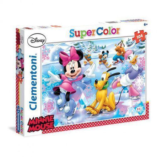 Puzzle 104 elementy. Minnie Sport (8005125279531)