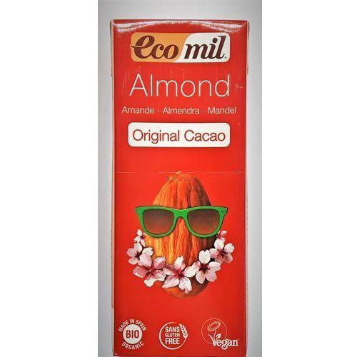 Napój, mleko migdałowe o smaku kakaowym bio 200 ml marki Ecomil