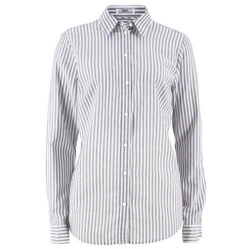 Długi shirt z długim rękawem bonprix czarny, w 9 rozmiarach