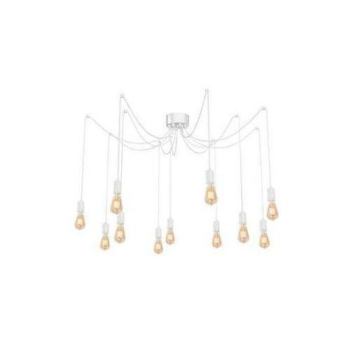 Luminex Spindel 4124 lampa wisząca zwis 11x60W E27 biały (5907565941241)