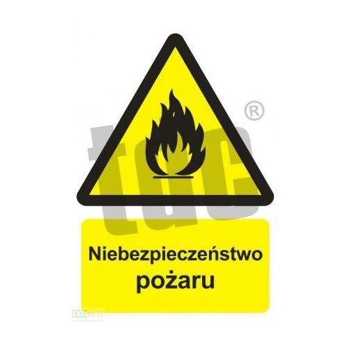 Epak Niebezpieczeństwo pożaru - materiały łatwopalne art. bc001