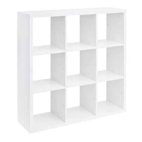 Form Regał mixxit 9-komorowy 108 x 108 x 33 cm biały (5052931155903)