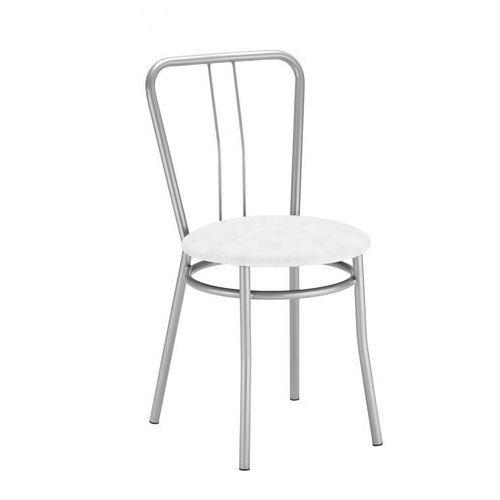 Nowy styl Krzesło kuchenne kolor biały alba alu (5903038215772)