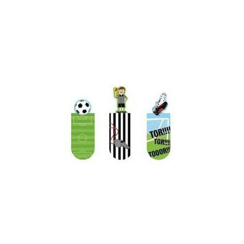 Magnetyczne zakładki do książek - futbol