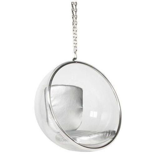 Malodesign Fotel ball wiszący srebrny