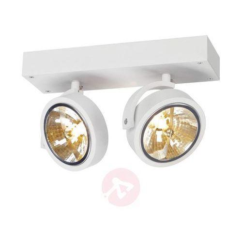 Slv Lampa punktowa 147261;g53, (dxsxw) 30 x 19 x 9 cm, biały (matowy) (4024163127370)