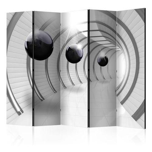 Parawan 5-częściowy - futurystyczny tunel ii [room dividers] marki Artgeist