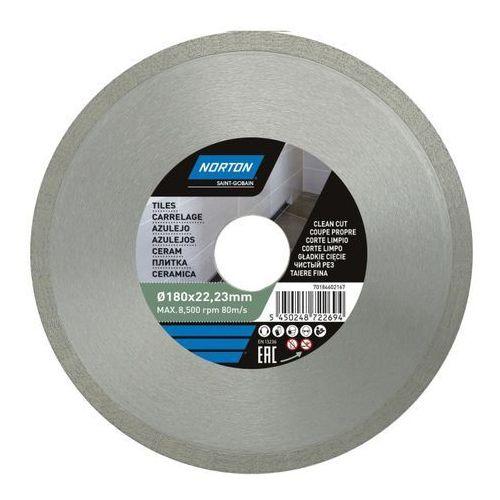 Tarcza diamentowa Norton do cięcia ceramiki 180 x 22,23 mm, 70184602167