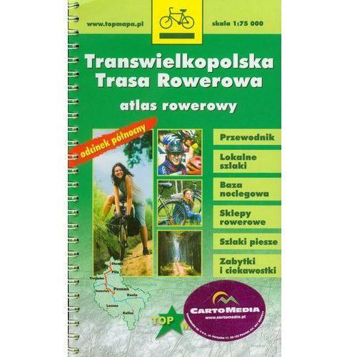 Transwielkopolska Trasa Rowerowa atlas rowerowy 1:75 000, pozycja wydawnicza