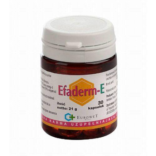 Eurowet efaderm-e suplement diety dla zdrowej skóry i sierści psa 60 kaps.